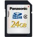 Carte SDHC classe 4 Panasonic 24GB