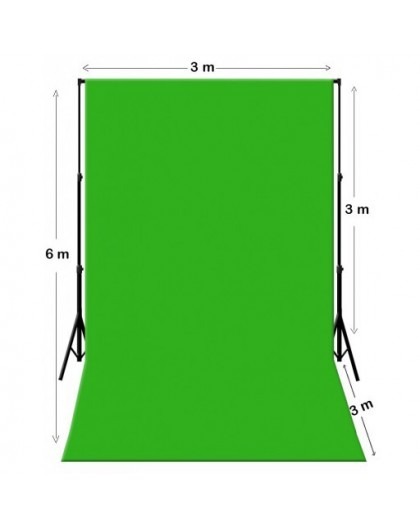 location fond vert bleu kit chromakey vert 3m x 6m support marseille. Black Bedroom Furniture Sets. Home Design Ideas
