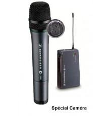 Location Système sans fil Sennheiser UHF pour caméra