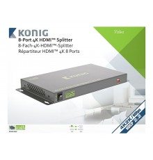 Location, Switch, splitter HDMI, professionnel 8 ports, Konig, Marseille Provence