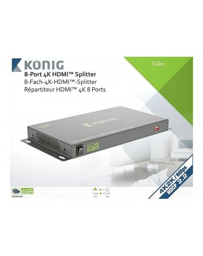 Location, Switch, splitter HDMI, professionnel 8 ports, Konig, Marseille Provence