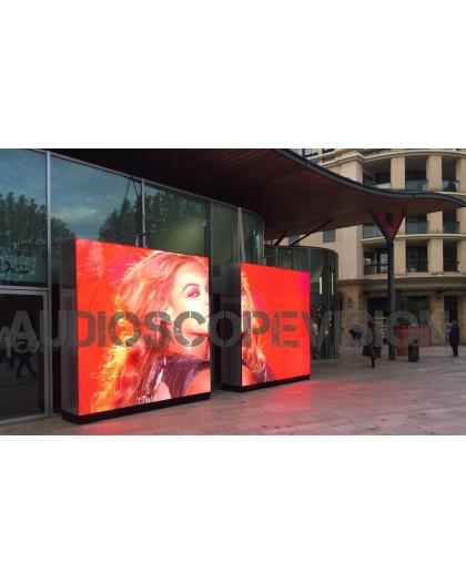 Location ecran led, plein jour, extérieur, mur led, écran géant, outdoor, mur led, Marseille, Location grand écran Cannes, aubag