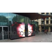 Location ecran led, plein jour, extérieur, mur led, écran géant, outdoor, Panneaux d'Affichage Digital, Marseille, Location gran