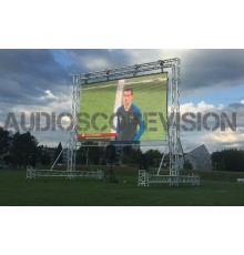 Ecran led 4.5m x 2,5m, location écran géant Aix en Provence, location écran plein jour