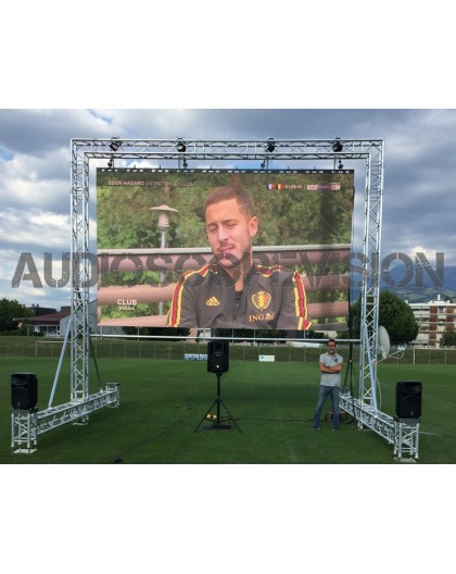 Location ecran led, plein jour, extérieur, mur led, écran géant, outdoor, grand écran, Aix, Aix en provence, Toulouse, Montpelli