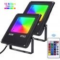 Projecteur LED RGB 50W IP65 étanche