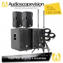 Location Pack son 1800W Rms 3600W Music sub 15