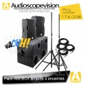 Location Pack son 1900W Rms 3800W Music sub 18