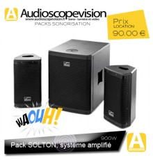 Location enceinte active, amplifiée, sub, bass, Marseille