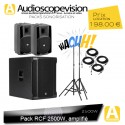 Location Pack sono RCF 2500W