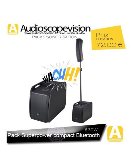 Location Pack sono 630W RMS colonne design type line array Bluetooth Marseille, location sono aix Provence