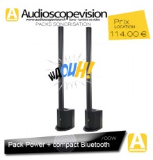 Location Pack sono 700W RMS colonne design Bluetooth Marseille