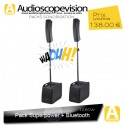 Location Pack sono 1260W RMS colonne design type line array Bluetooth Marseille