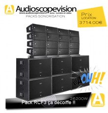 Location Pack son concert 26200W Rms  52000W Music