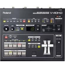 Location Roland V40HD régie de mixage vidéo régie vidéo console de mixage vidéo professionnelle mélangeur switcher vidéo Marseil