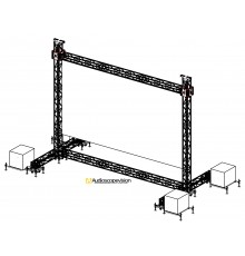 Location structure pour écran plein jour écran led extérieur grand écran led