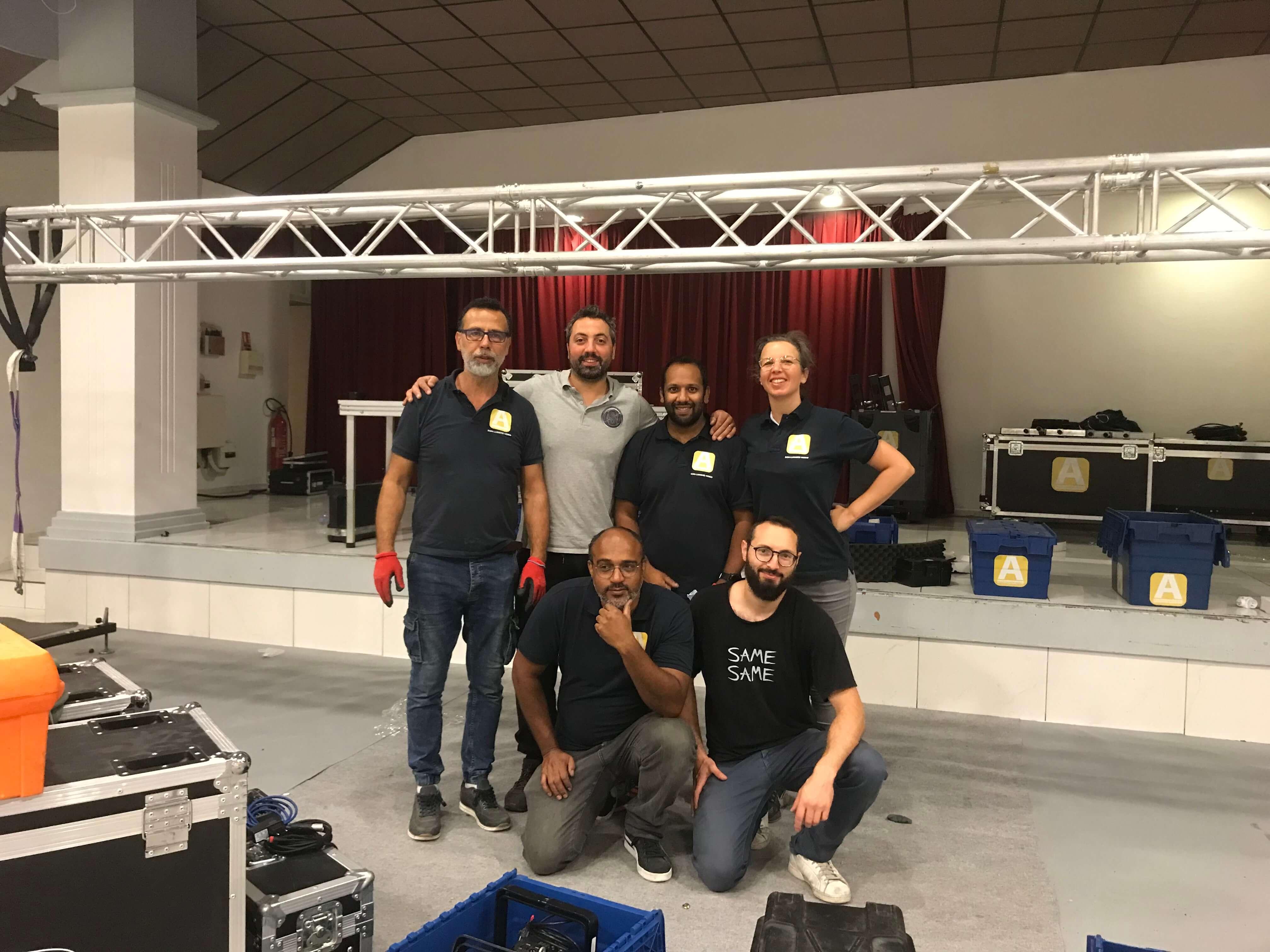 Team équipe Audioscopevision